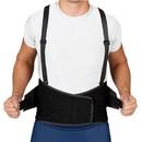 Blue Jay Industrial Back Suppt w/Suspenders Black Med/Lg