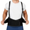 Blue Jay Industrial Back Suppt w/Suspenders Black X-Large