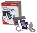 Blood Pressure Monitor-Manual Inflation  Omron