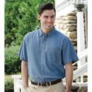 Jonathan Corey 631JC Mens 6.5oz Shortsleeve Denim Shirt