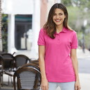 Gildan 82800L Ladies Premium Cotton Double Pique Sport Shirt
