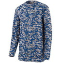 Augusta Sportswear 2789 Youth Digi Camo Wicking Long Sleeve Tee