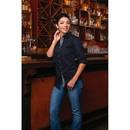 Burnside B5290 Ladies' Long Sleeve Peached Poplin Shirt