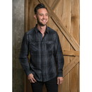Burnside B8206 Men's Long Sleeve Western Shirt
