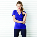 Bella+Canvas Women's Jersey Short Sleeve Deep V-neck Tee