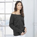 Bella+Canvas 7501 Bella Women's Sponge Fleece Wide Neck Sweatshirt