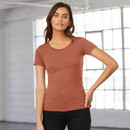 Bella+Canvas 8413 Women's Triblend Short Sleeve Tee
