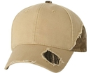 OUTDOOR CAP BSH350 Frayed Cap with Camo