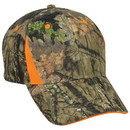 OUTDOOR CAP CBI305 Camo with Blaze Trim Cap