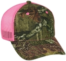 OUTDOOR CAP CNM100M Camo with Neon Mesh Cap