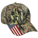 OUTDOOR CAP CWF305 American Flag Cap