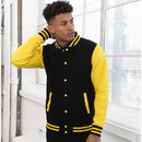 Just Hoods By Awdis JHA043 Letterman Jacket