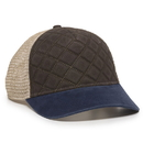 OUTDOOR CAP Quilted Front Meshback Cap - QLT100M