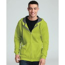 Fruit Of The Loom SF73 7.2oz Sofspun Zipper Hooded Sweat
