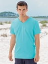 Fruit Of The Loom SFV 4.5oz 100% Sofspun V Neck T