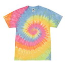 Colortone Tie Dye 1000Y Youth 5.2oz 100% Cotton Tie Dye