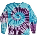 Colortone Tie Dye 2000 5.2oz 100% Longsleeve Tie Dye