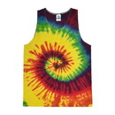 Colortone Tie Dye 3500 6oz 100% Cotton Tie Dye Tank Top