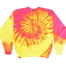 Colortone Tie Dye 8100 Reactive Dyed Crew Sweat