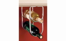 Rev-A-Shelf 3250CR Chrome Under Cabinet Double Wine Bottle Rack