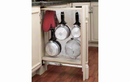 Rev-A-Shelf 434-BF-6SS Filler Pullout Organizer with Stainless Panel Sink & Base Accessories, 6