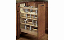 Rev-A-Shelf 448-BCSC-11C Base Cabinet Pullout Organizer with Blumotion Soft-Close Sink & Base Accessories, 11-3/4