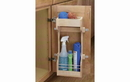 Rev-A-Shelf 4SBSU-18 Door Storage Cleaning Organizer Sink & Base Accessories, 13-1/2