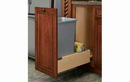 Rev-A-Shelf 4WCBM-15DM-1-16 Natural Soft-close Revamotion 35QT Single Waste Container Pullout