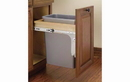Rev-A-Shelf 4WCTM-1516DM-1 Natural 35QT Single Waste Container Pullout