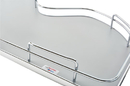 Rev-A-Shelf 5372-15-GR-L Left Door/Blind Right Grey Double Shelf Cloud For 15 In. Cabinet Opening