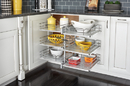 Rev-A-Shelf 53PSP3-18SC-GR 3-Tier Soft Close PSP for 18 in. Cabinet Opening with Gray Solid Bottom
