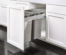 Rev-A-Shelf 53TM-1850GSCDM2-FL Double Top Mount Steel Waste Containers