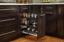 Rev-A-Shelf 548-BC-8C Base Cabinet Pullout Chrome Organizer Sink & Base Accessories, 7-3/4