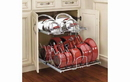 Rev-A-Shelf 5CW2-2122-CR Base Cabinet Pullout 2 Tier Cookware Organizer Sink & Base Accessories, 20-3/4