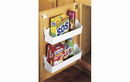 Rev-A-Shelf 6235-14-11-52 Door Storage 5 Trays With Screw-In Clips Tall/Pantry Accessories, 13-3/4