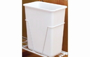 Rev-A-Shelf 6700-61-96 White 30QT Waste Container Only