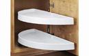 Rev-A-Shelf 6842-31-11-570 Lazy Susan Half-Moon 2 Shelf (Pivot Only) Blind Corner Accessories, 31