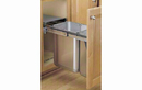 Rev-A-Shelf 8-785-30-DM2SS Stainless Steel 10+20 Liter Double Waste Container Pullout