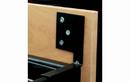 Rev-A-Shelf CJD-DMB-KIT Black Drawer Mount Bracket Kit for Jewelery Drawer Organizers
