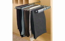 Rev-A-Shelf PSC-1814CR Pant Organizer with Movable Fingers for Closet, 18-1/8