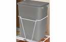 Rev-A-Shelf RV-50-17-52 Silver 50QT Waste Container Only