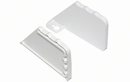 Rev-A-Shelf ST-97-11-4 White Plastic End Caps Only for 6551 + 6571 Series Tip-out Trays