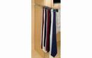 Rev-A-Shelf TRC-14CR Tie Organizer Side Mount Pullout for Closet, 2-1/2
