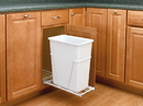 Rev-A-Shelf VL-9PB Single Value Line Bottom Mount Wire Waste Containers