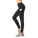 GOGO TEAM Women's Yoga Pants-Tummy Control Scrunch Butt Workout Exercise Leggings with Side Phone Pockets
