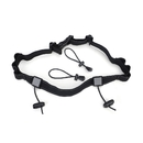 GOGO Reflective Running Bib Belt, 6 Fixed and 2 Removable Loops for Energy Gel