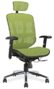 Office Source 18921 Mesh/Chrm Frame Mid Back Task Chair