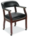 Office Source 272 Mah/ Side Chair W/Casters