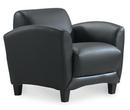 Office Source 9881 Leather Manhattan Club Chair