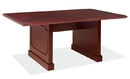 Office Source 992MH 6Ft - Rectangular Table w/Panel Base